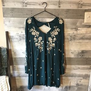 Free People Tennessee Embroidered Dress